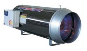 جت هیتر موشکی گازی سری QG-95 QG-95 نام تجاری این محصول QLD95 است ظرقیت گرمایشی آن 95 کیلو وات بر ساعت است محیطی که قابل گرمایش است توسط این دستگاه 800متر مکعب تا3000متر مکعب است از شعله پخش کن دو مرحله ای با طراحی ویژه جهت اختلاط سوخت و هوا و فرم دهی به شعله استفاده می کند. از دیگر ویژگی های این مدل میتوان به شیر برقی گاز اروپایی، بدنه استنلس استیل و توری محافظ موتور، تابلو برق الکترونیکی تمام اتوماتیک و ضد آب اشاره نمود. جت هیتر های سری QG ، قابلیت نصب بصورت آویز و پرتابل را داشته و امکان استفاده با ترموستات محیطی را دارد. جت هیتر موشکی گازی سری QG-95 1. جت هیتر موشکی گازی سری QG مخصوص کارخانه جات و مرغداریها می باشد. 2. جنس بدنه و کوره جت هیتر موشکی به ترتیب از جنس استنلس استیل و استنلس استیل نسوز می باشد. 3.مجهز به دو الکترود جرقه زن و شعله پخش کن مخصوص با زوایه محاسبه شده 4. شعله پخش کن دو مرحله ای Two Step با طراحی ویژه جهت اختلاط سوخت و هوا و فرم دهی به شعله 5. شعله پخش کن تهیه شده از توری استنلس استیل نسوز دو لایه 6. دارای دو فیلتر گازوئیل 7. قابلیت نصب سیستم اتوماتیک سوخت رسانی 8. قابلیت نصب ترموستات اتاقی می باشد. 9. تک موتوره بدون دودکش می باشد. ظرفیت حرارتی :82,000 kcai/hr ظرفیت هوادهی: 5000 cfm متراژ تحت پوشش:2000 m³ مصرف سوخت:5 لیتر در ساعت وزن:32kg 1. مخصوص گارخانجات و مرغداریها 2. گازی 3. بدون دودکش تلفن تماس :09199762163-09120578916 ارسال به سراسر کشور